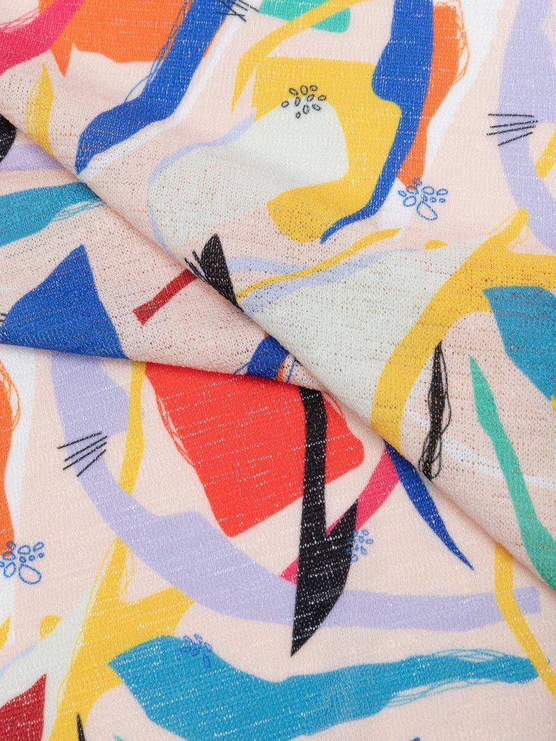 mpression du tissu Jersey tricot