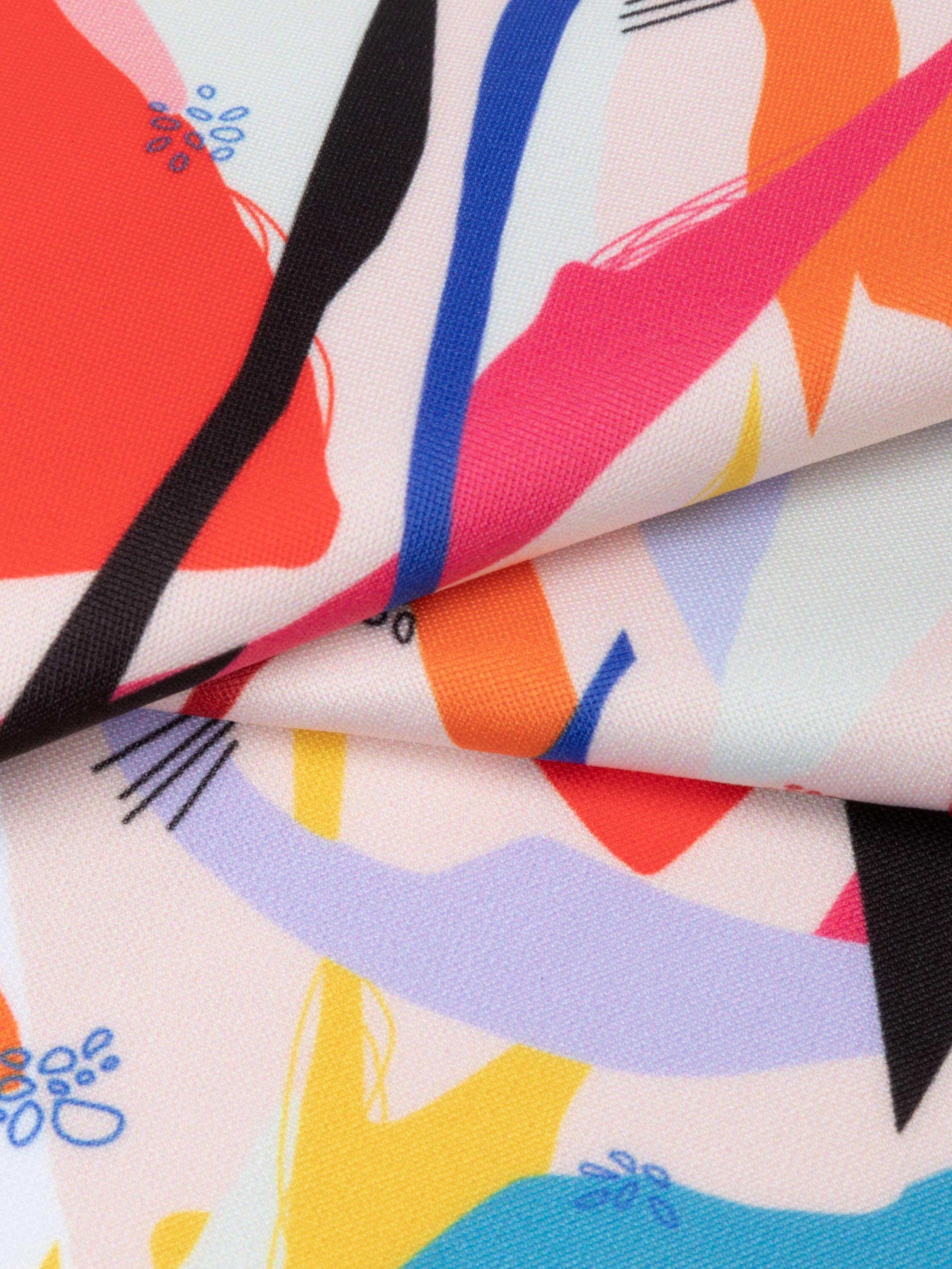custom print Scuba fabric samples