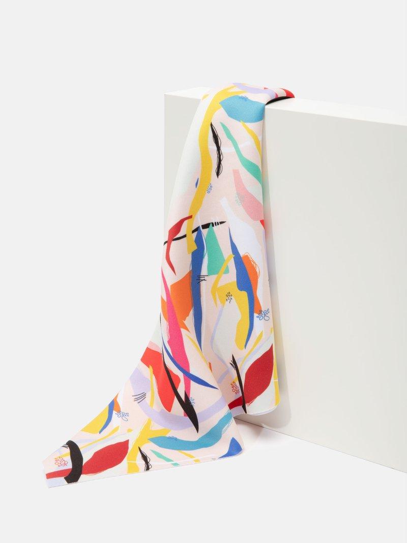 custom Scuba fabric swatch printing
