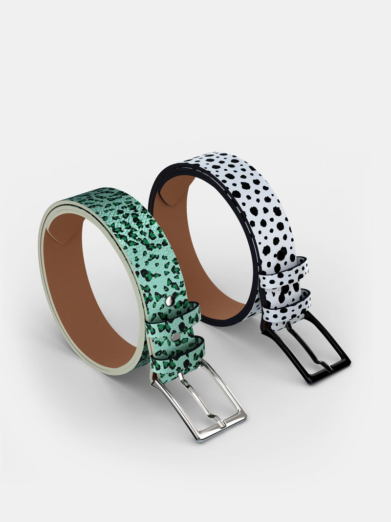 custom made leather belts