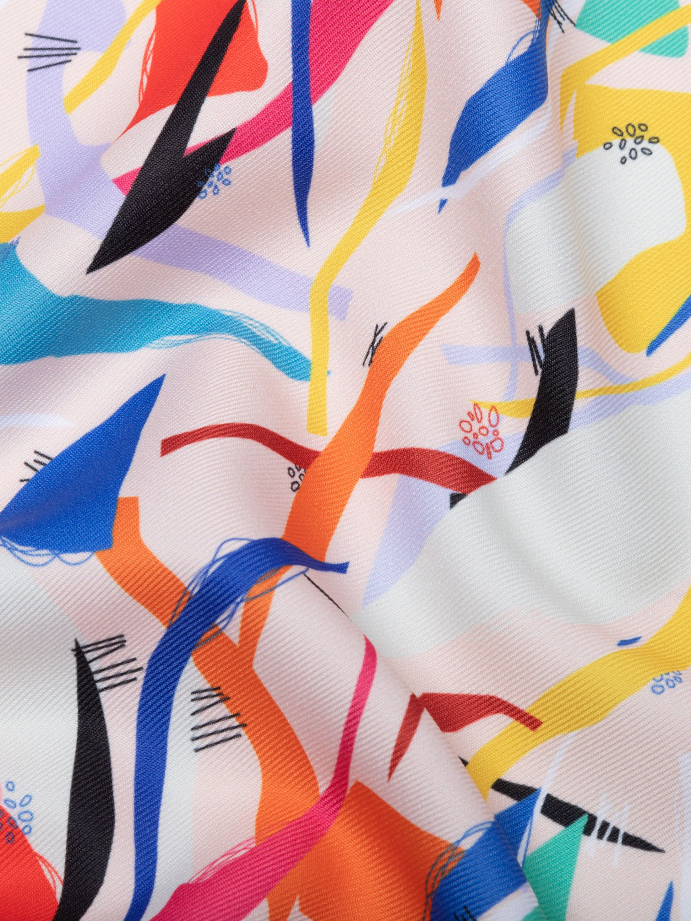printing on poly twill fabric
