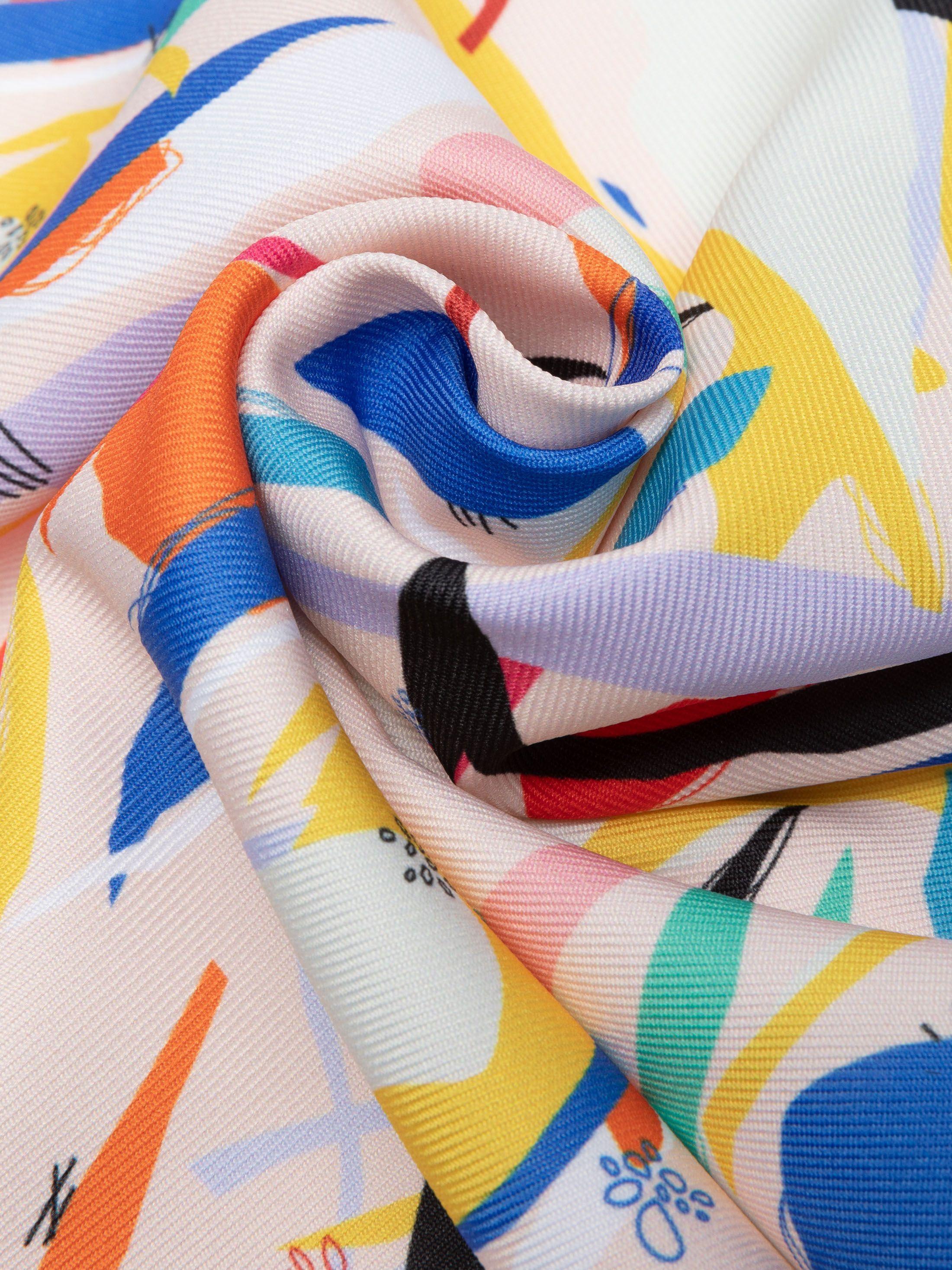 tissu Poly Twill personnalisé avec votre design