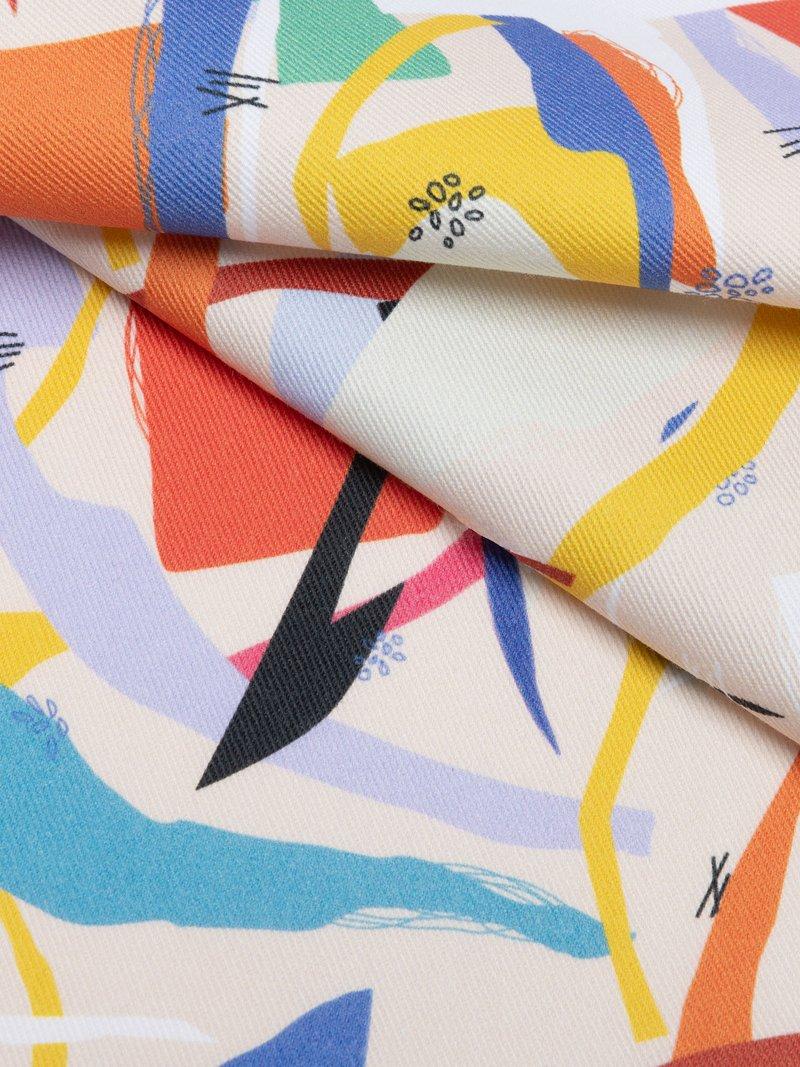 Personalised Print of custom printed drill fabric