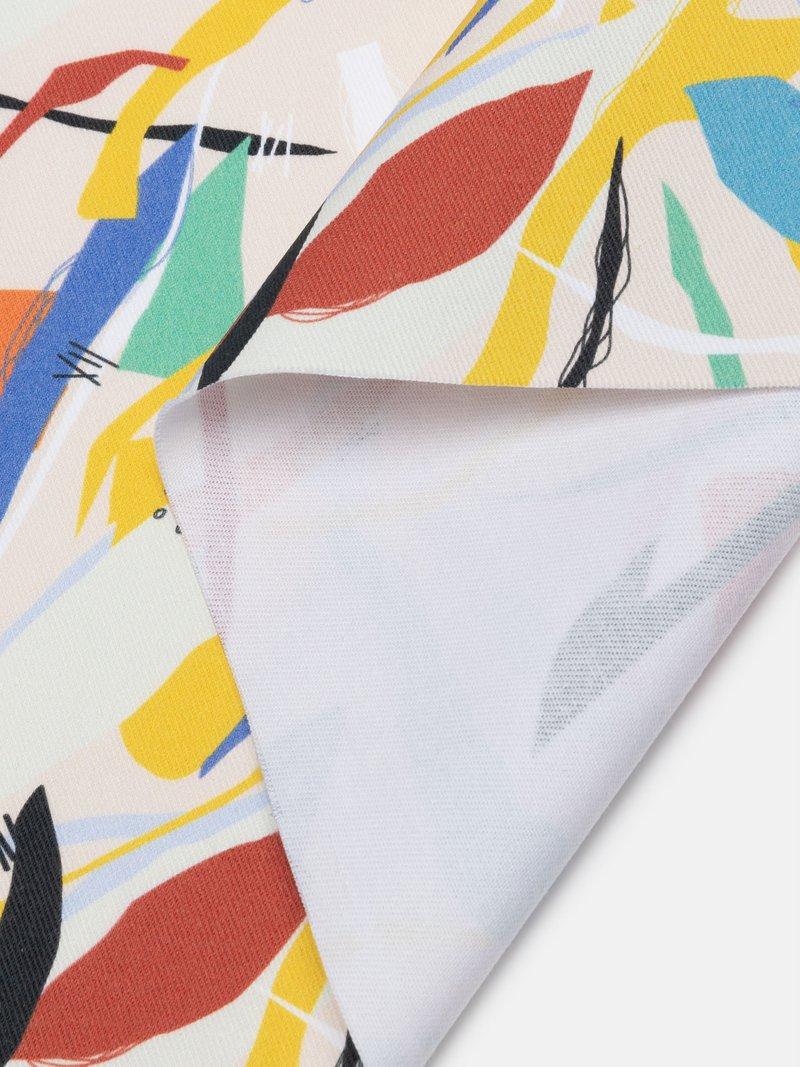 Close up fabric cotton drill fabric UK
