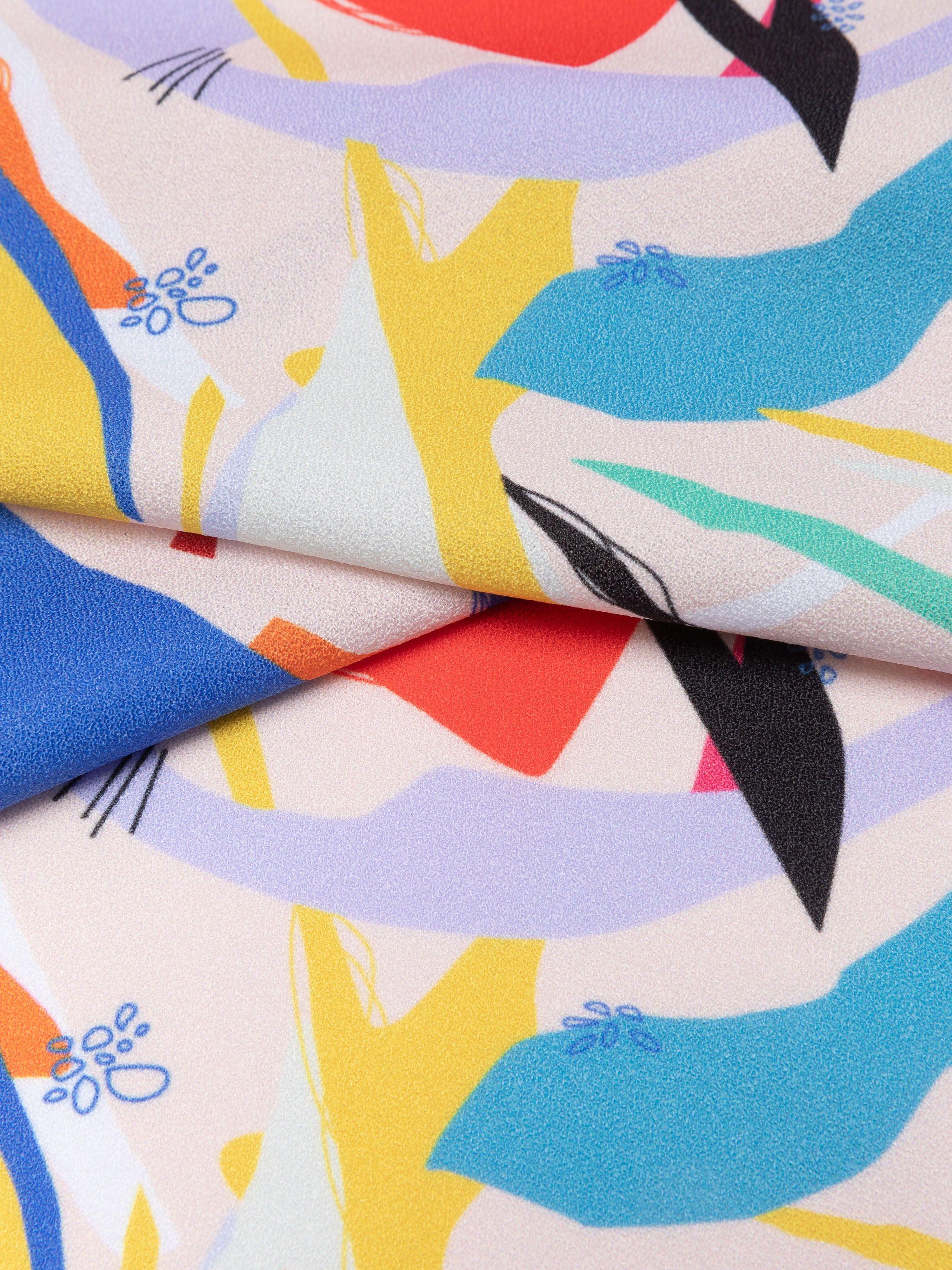stretch crepe fabric
