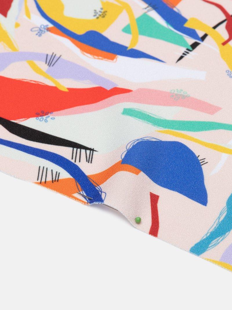 Diseña tela crepe online