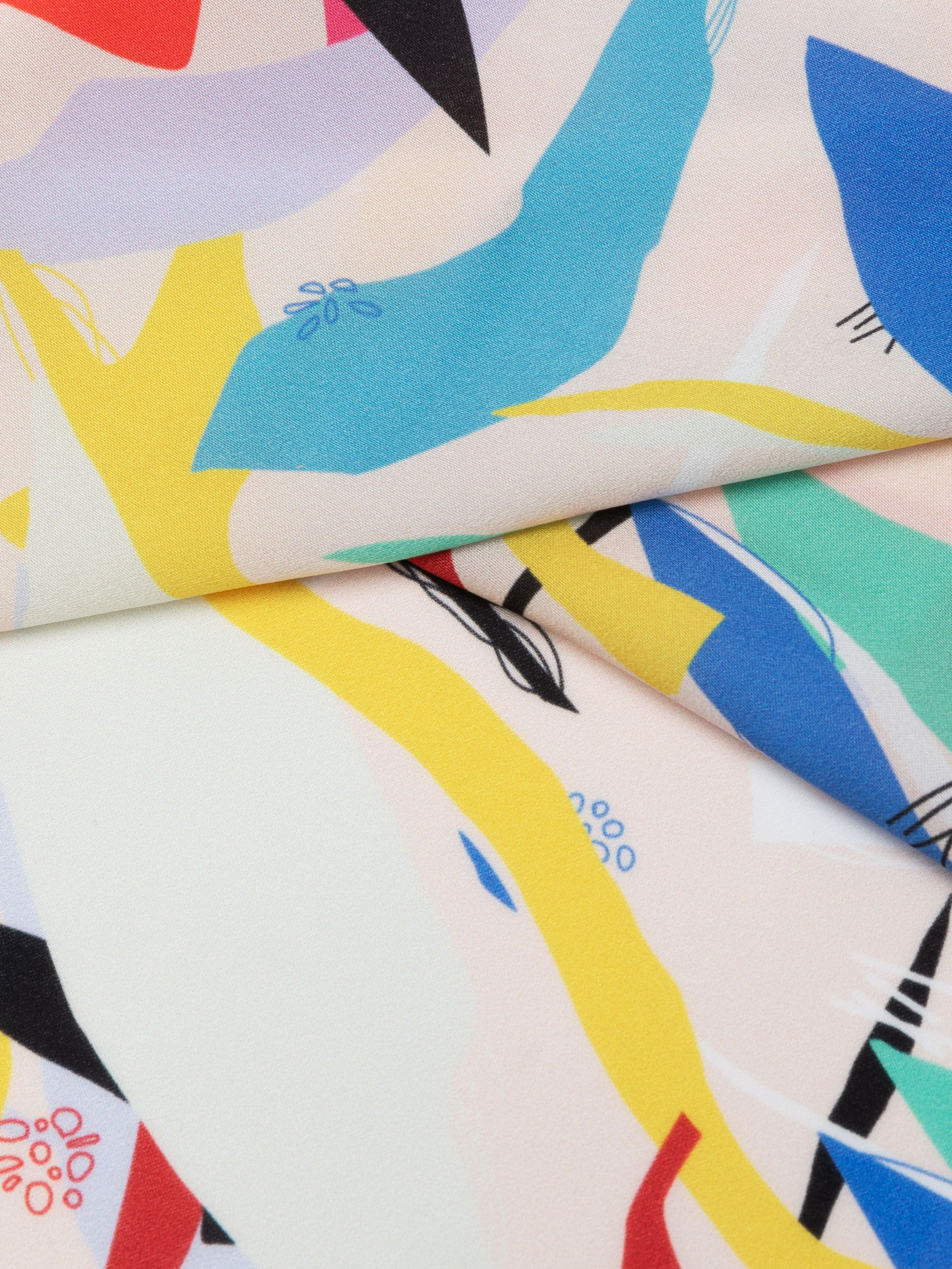 bespoke lightweight crepe fabric
