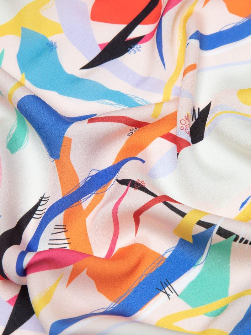 custom light crepe fabric