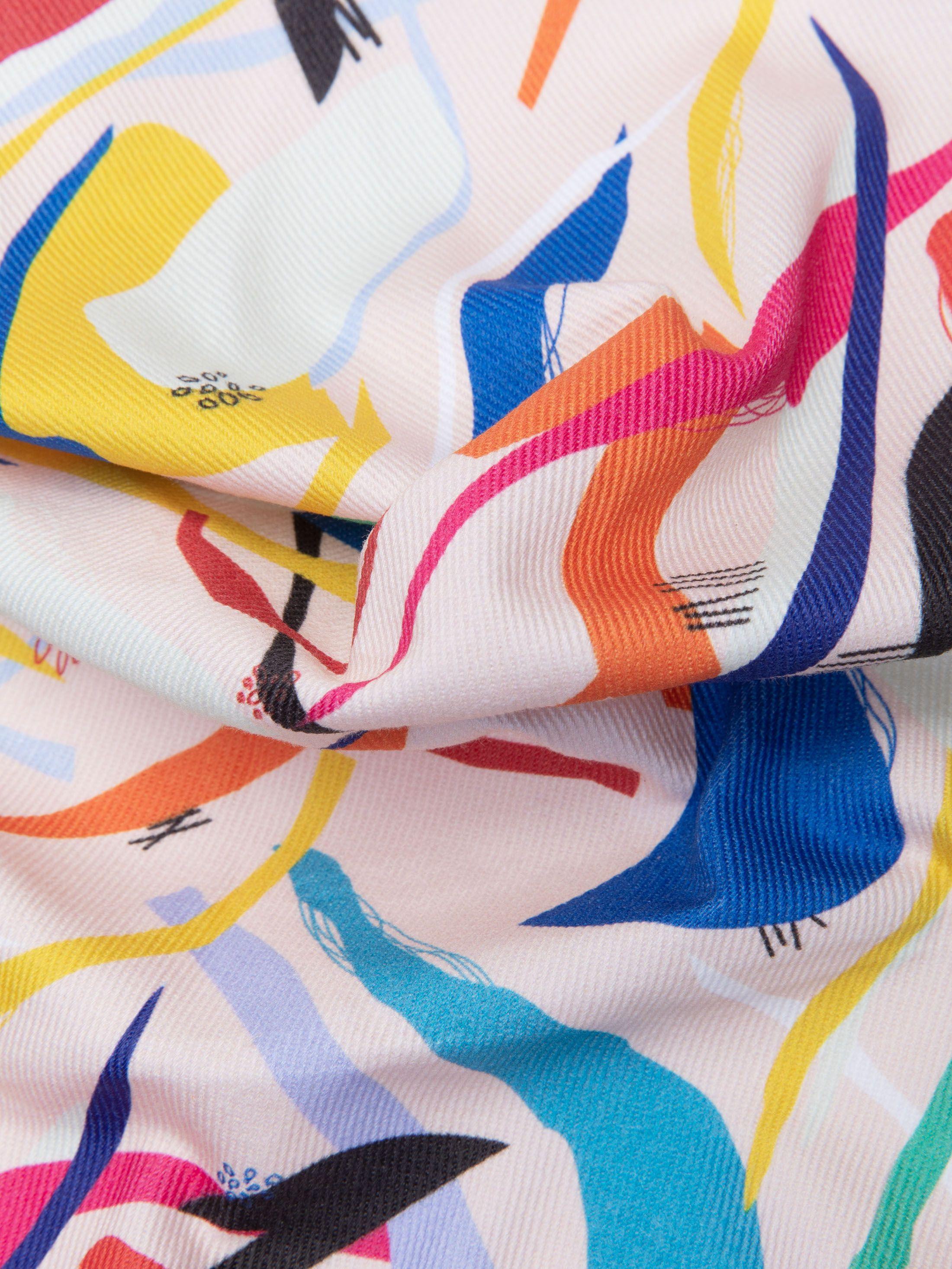 ブルデニム 布印刷
