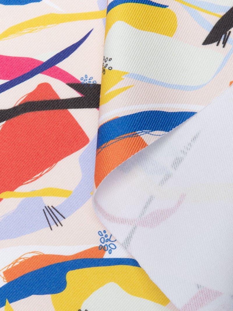 Order printed 100 cotton denim fabric online UK