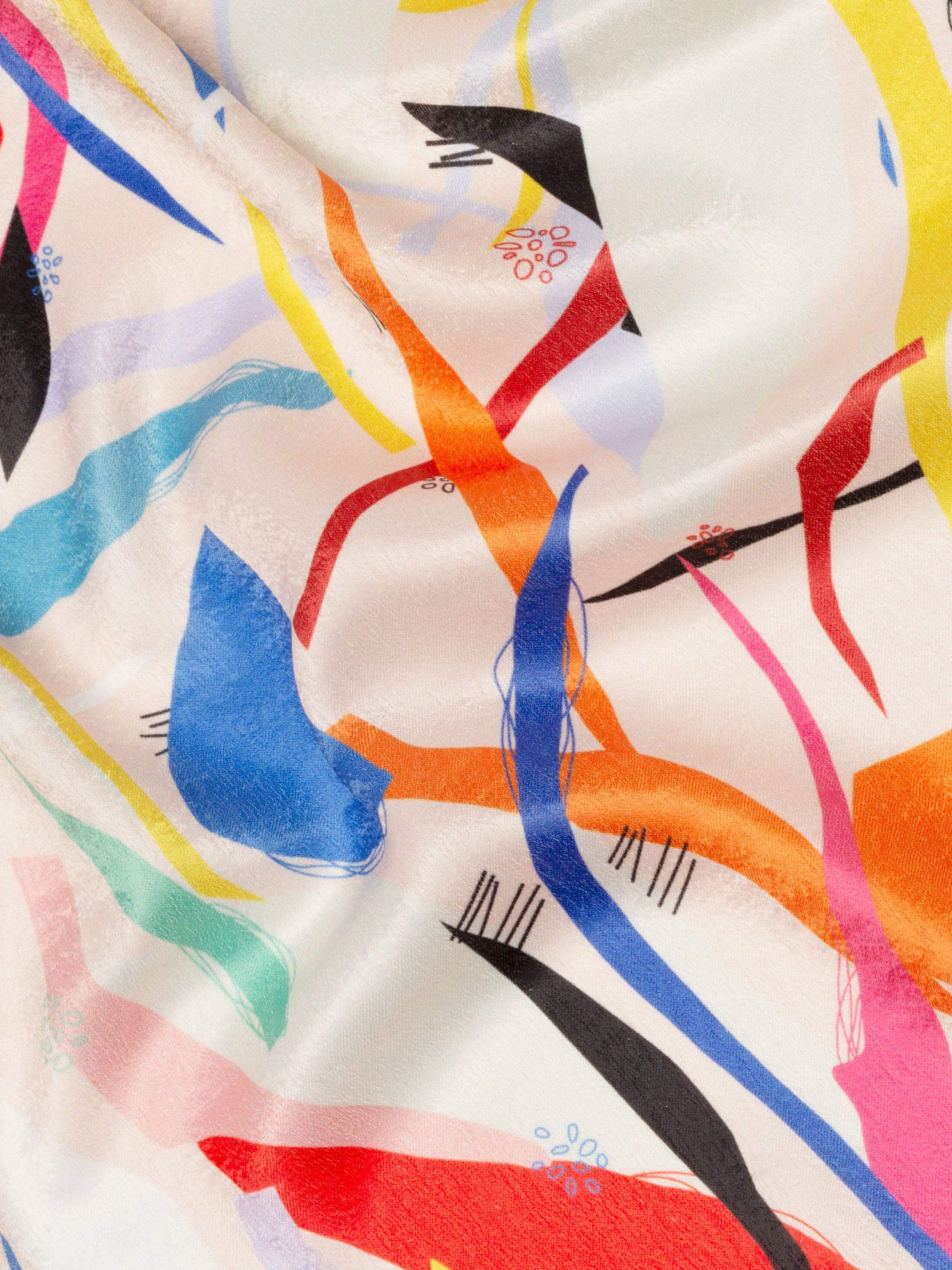velvet fever poly satin fabric