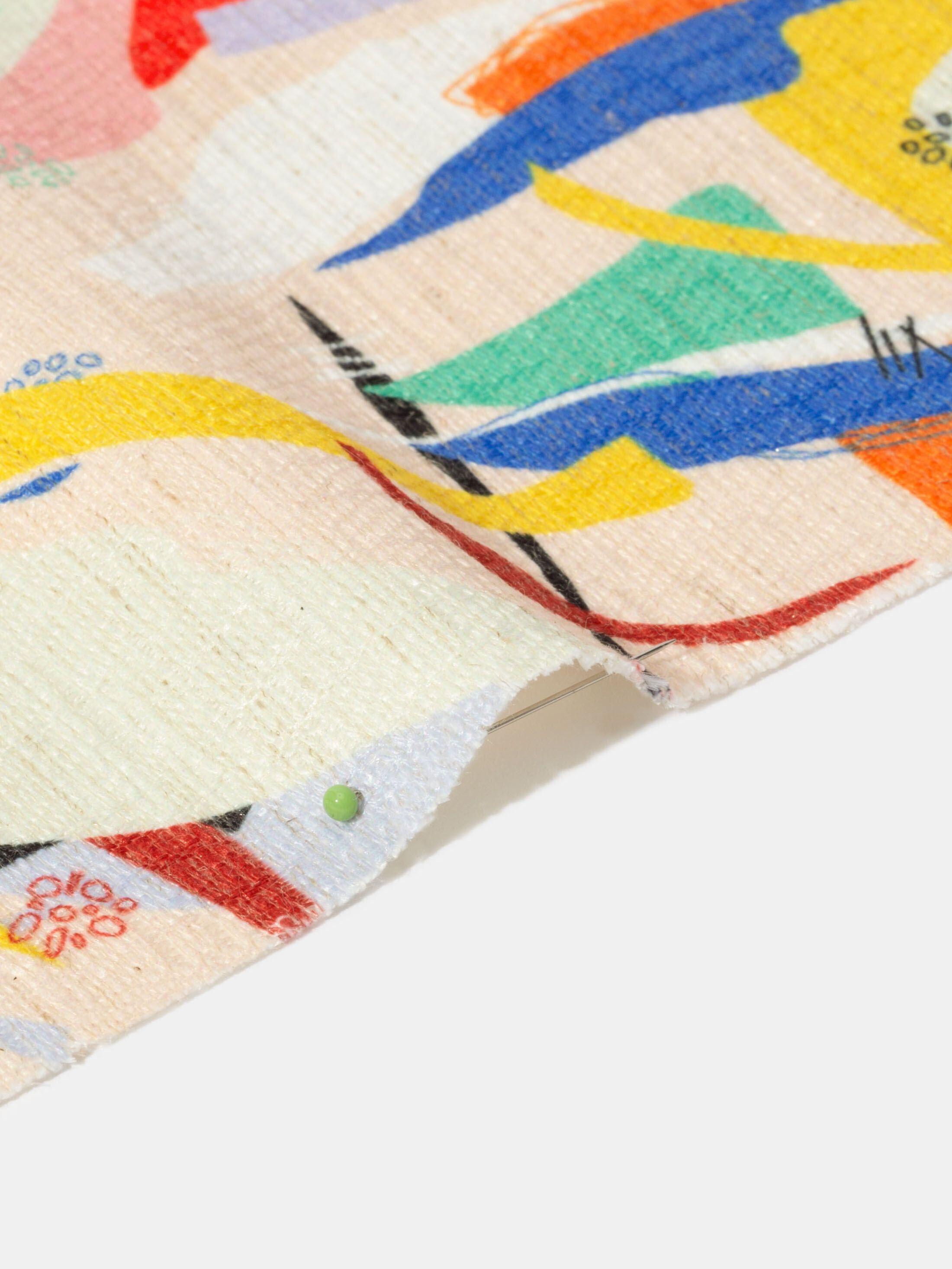 Sara Linen – Tissu dobby lin pour designer