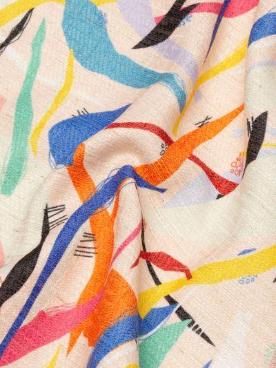 Linneblandad textil på metervara