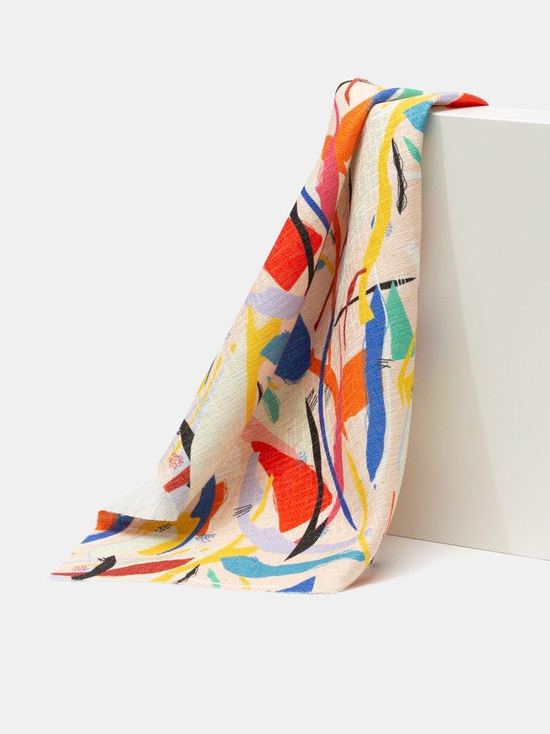 stampa tessuti lino dobby