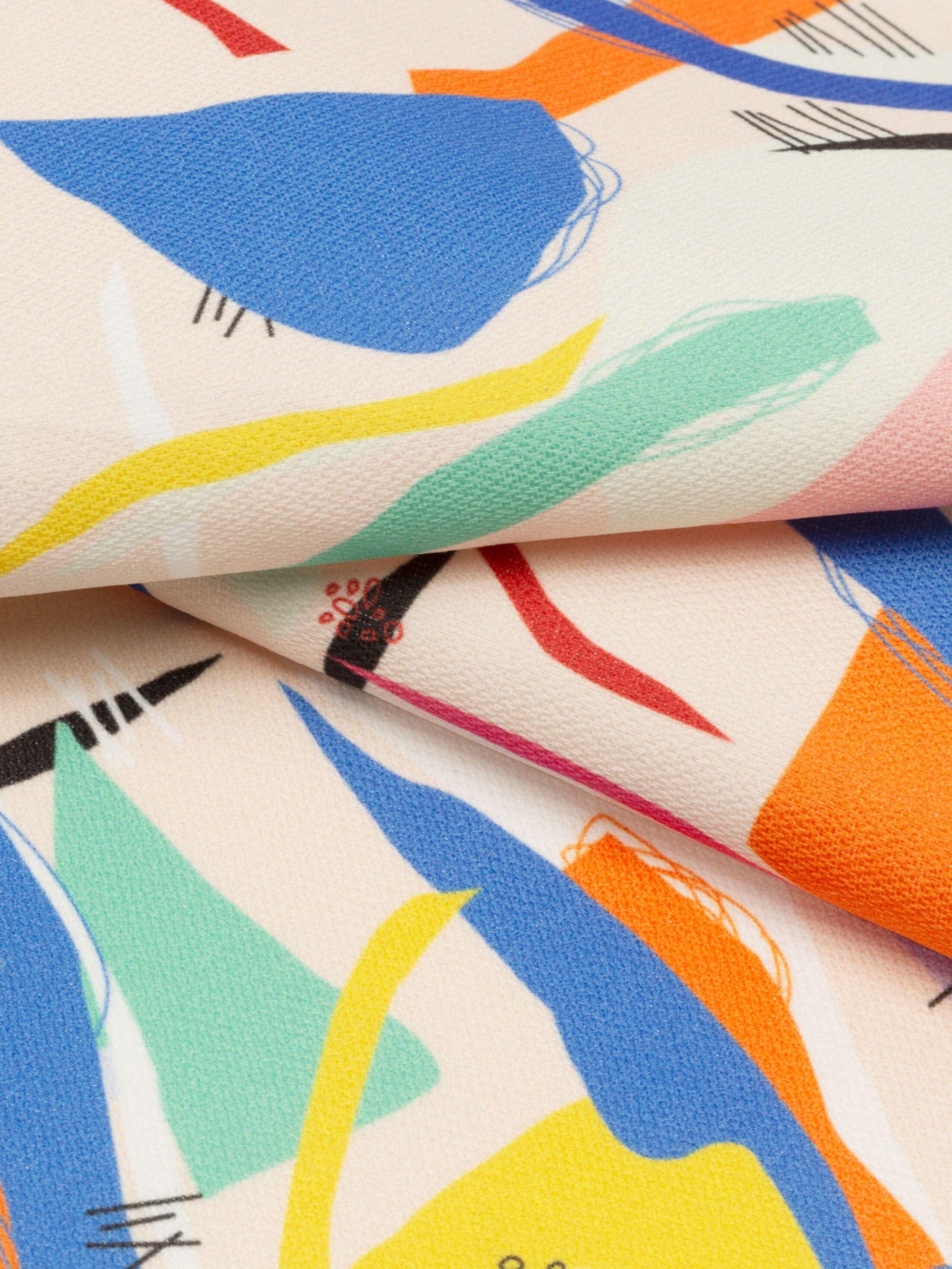 Lima bomullstyg med ditt mönster
