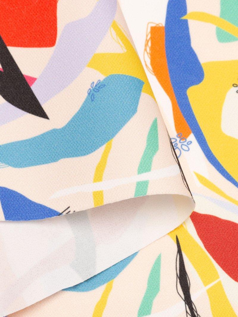 Lima Baumwoll-Twill Stoff bedrucken lassen weiße basis