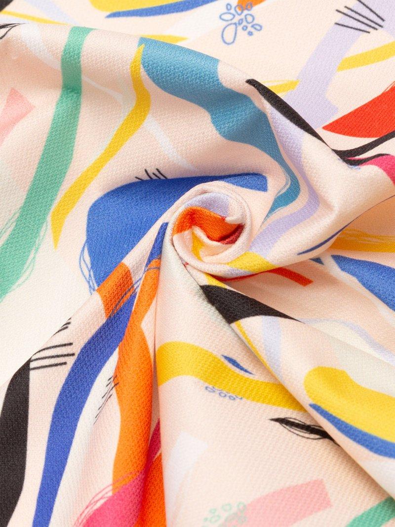 printing Lima Cotton Poplin fabric pattern