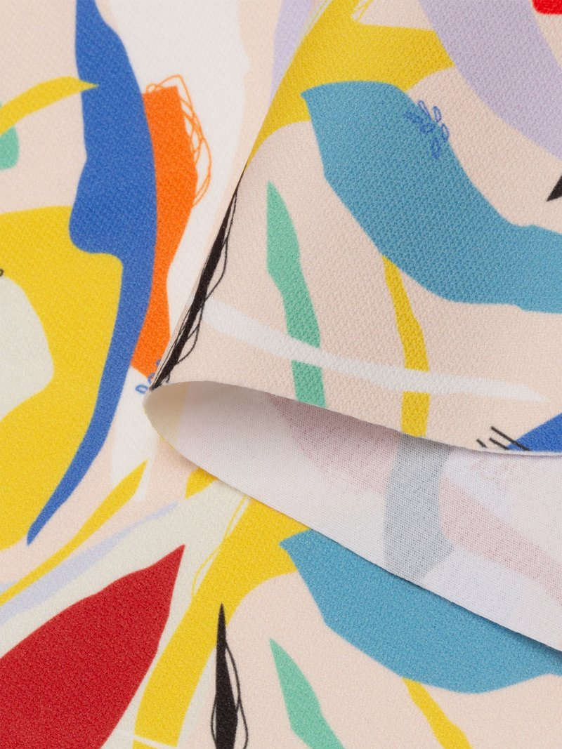 custom print Lima Cotton Poplin Printing fabric