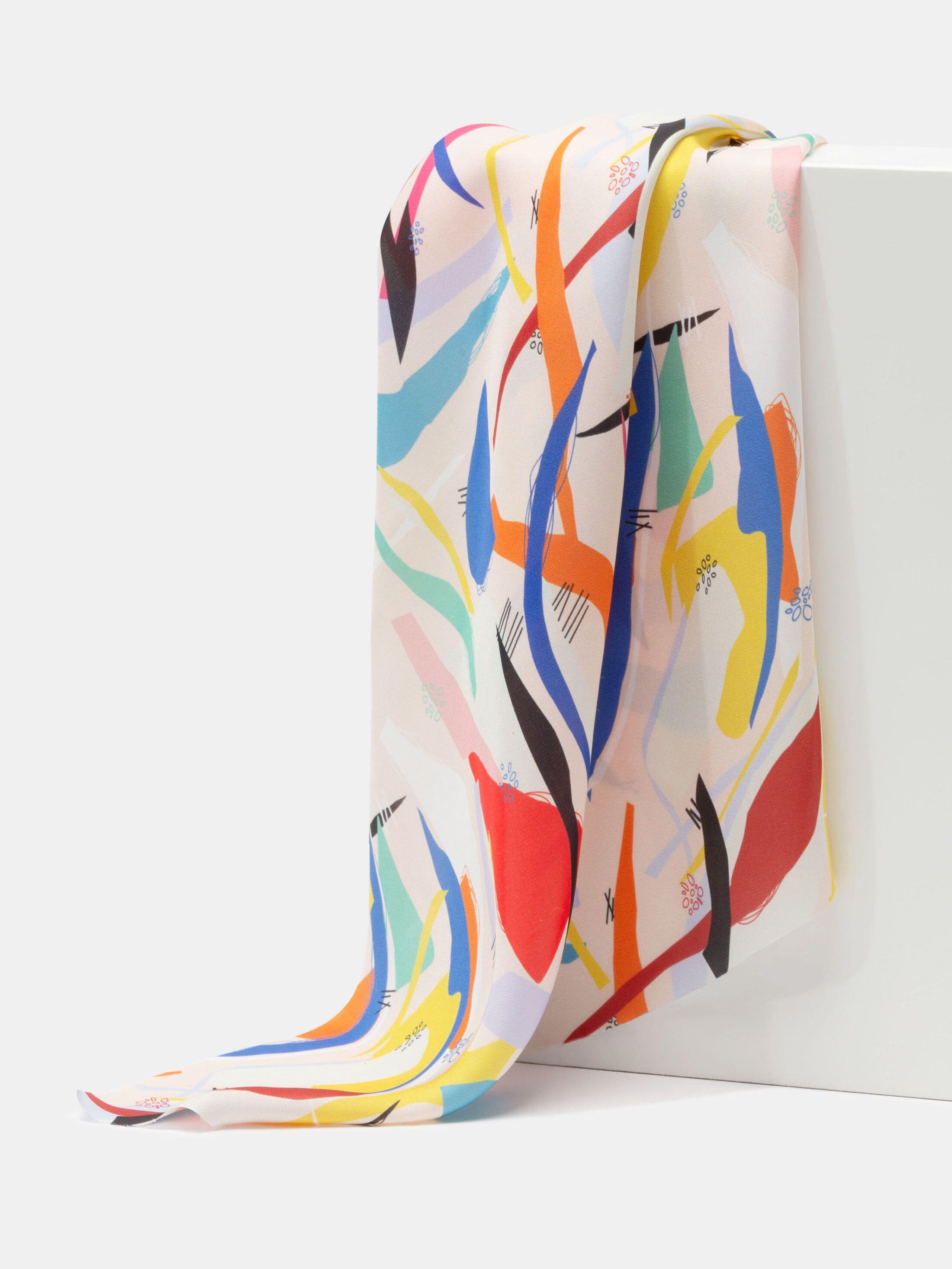 Tissu polyester en armure satin