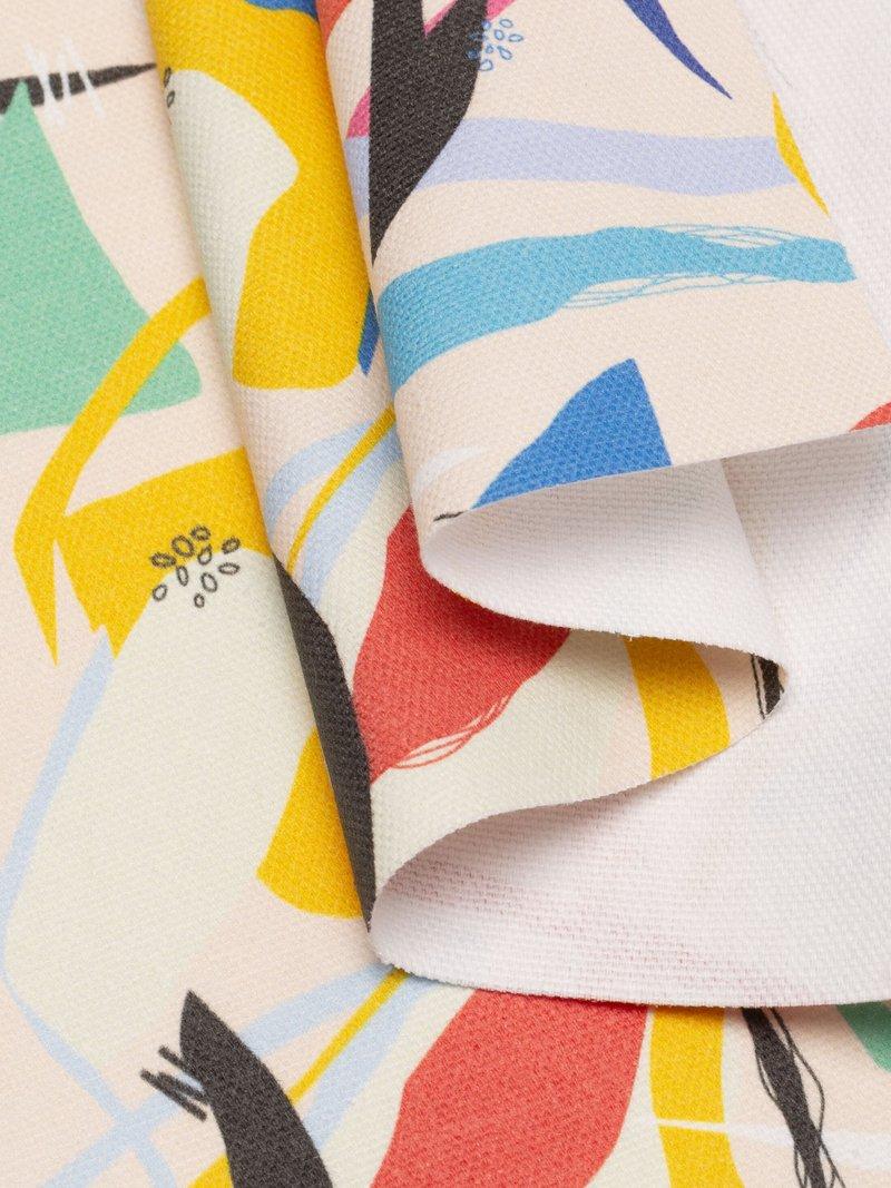 customised organic cotton fabric Ireland
