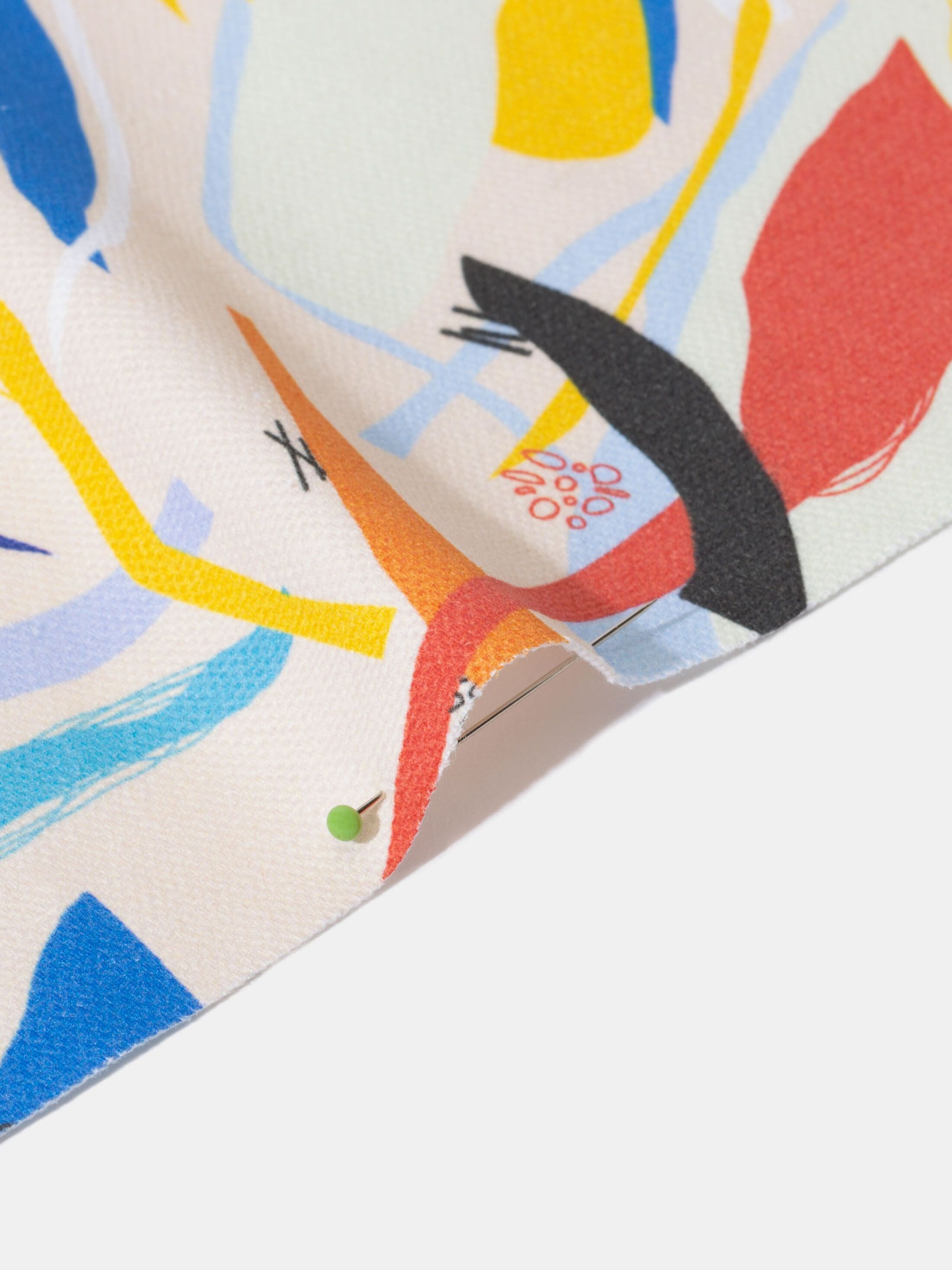 custom organic cotton canvas edge options