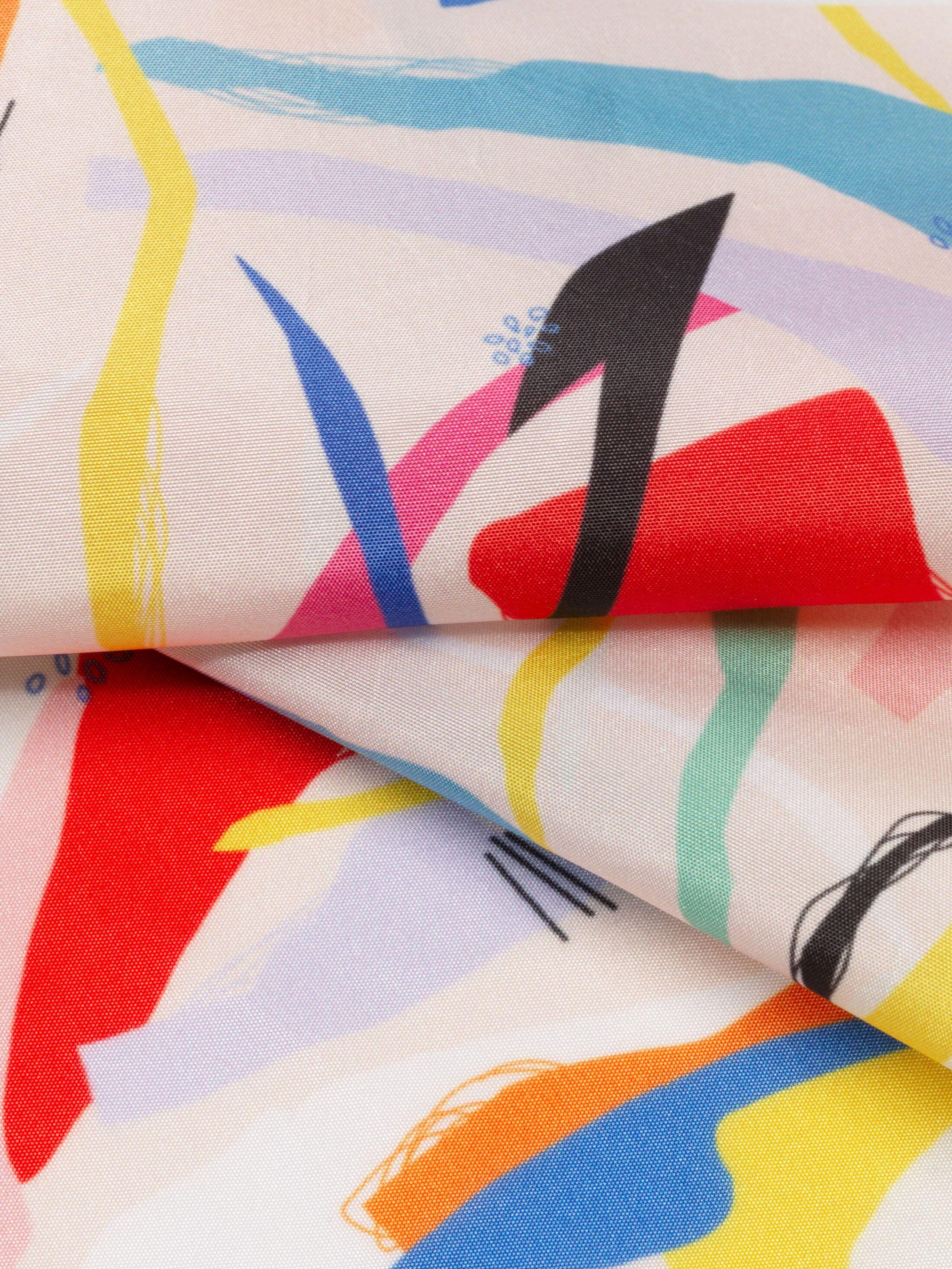 printing Taffeta fabric swatch