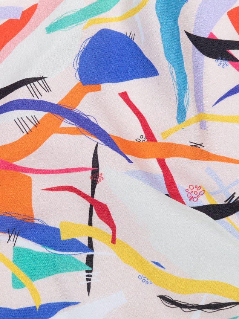 poplin printed cotton fabric