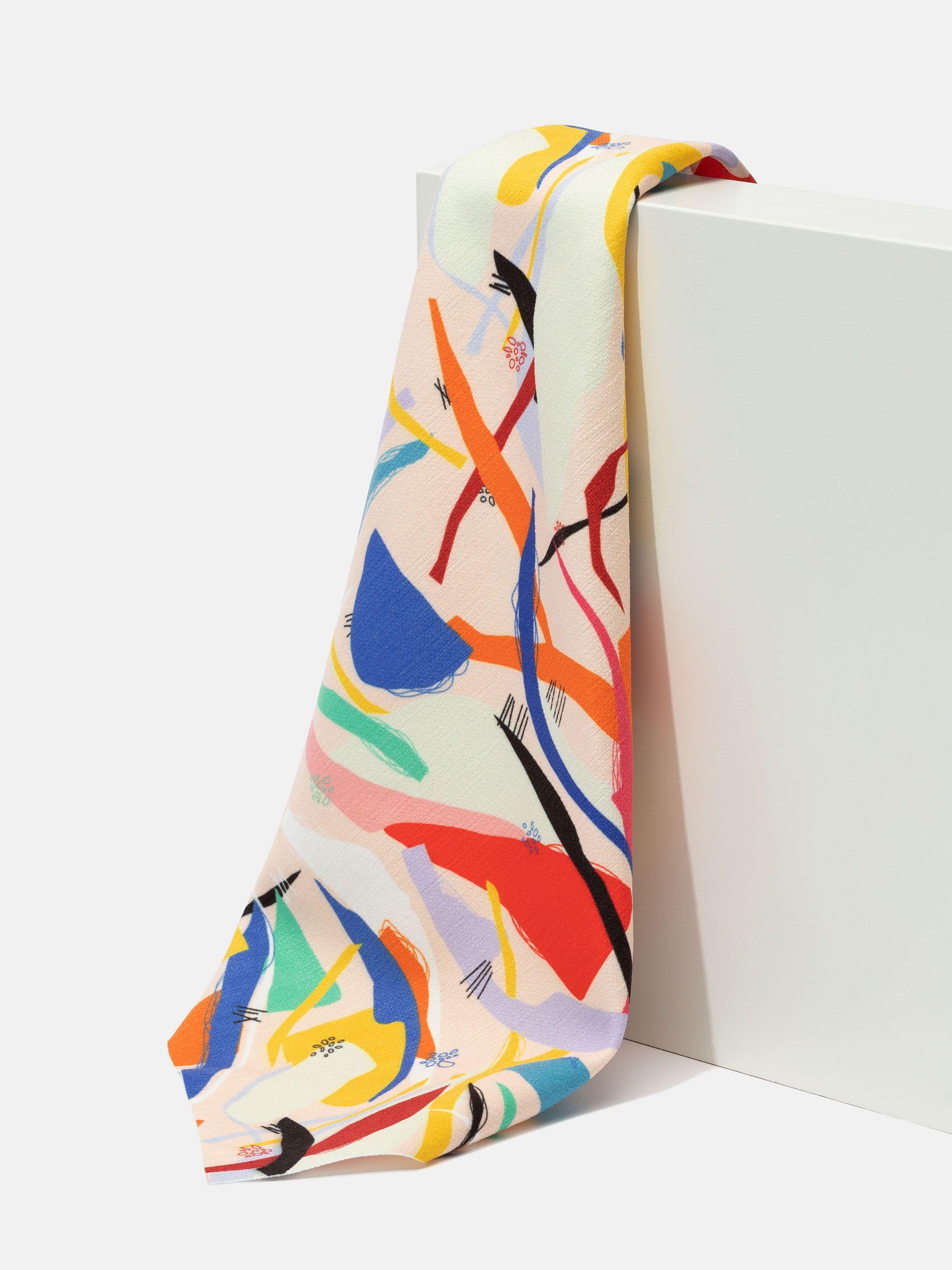 stampa su stoffa chenille