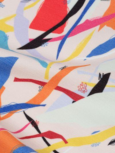 chenille fabric printing