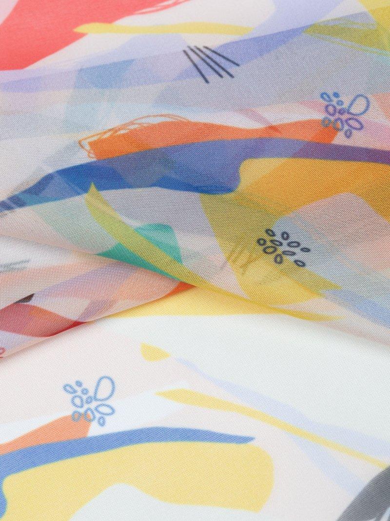 custom print Paris Chiffon fabric
