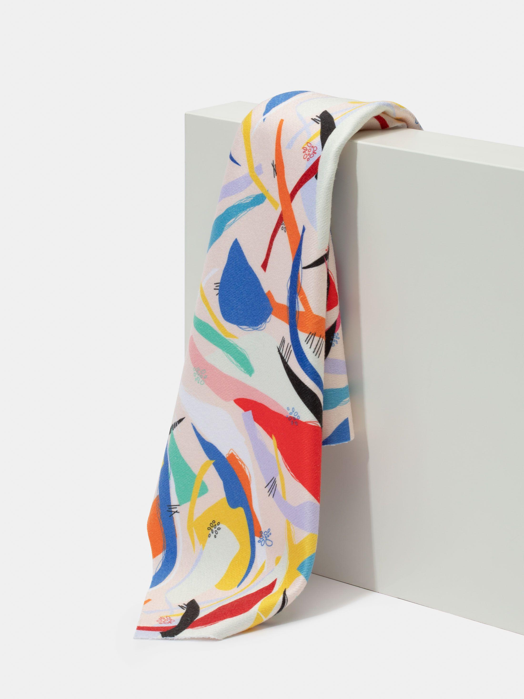 print Toweling fabric
