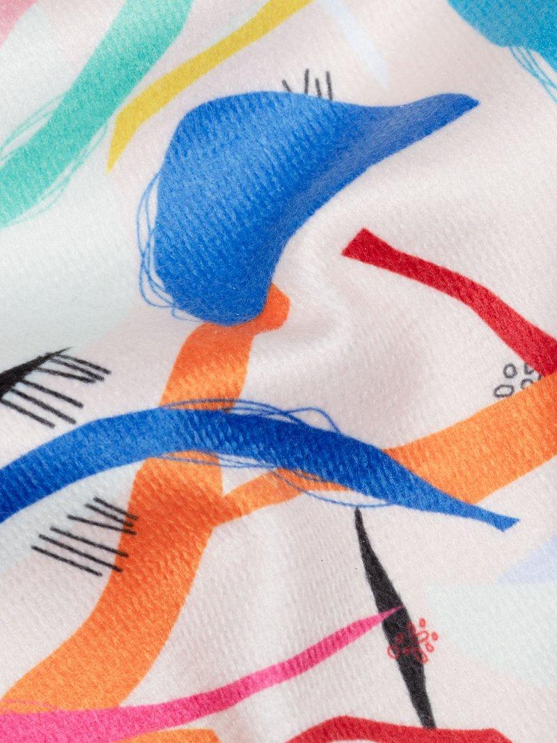 digital printing pattern on Towelling