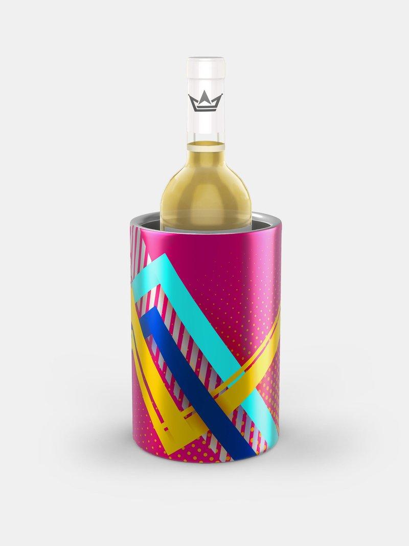 gepersonaliseerde wijnkoeler
