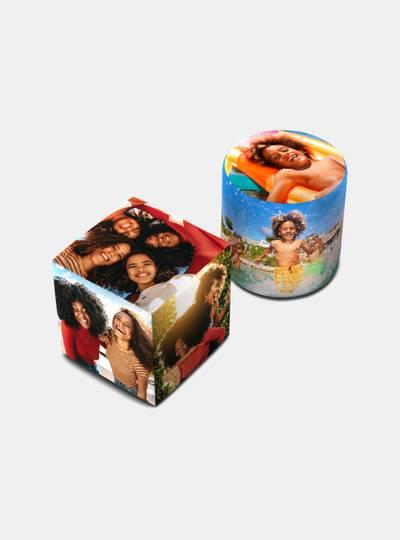 personalized pouf