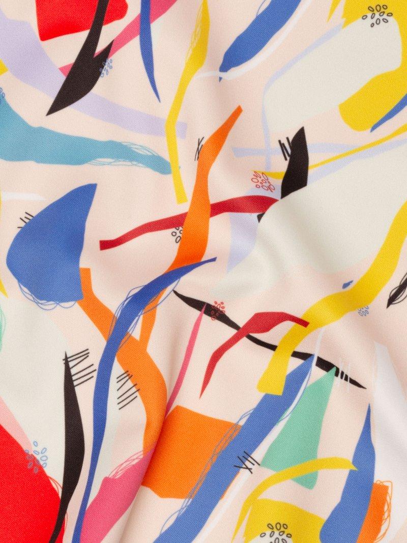 gepersonaliseerde softshell jersey stof
