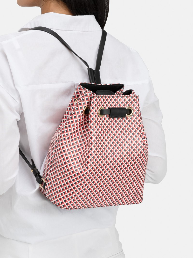 leder-rucksack mit kordelzug bedrucken