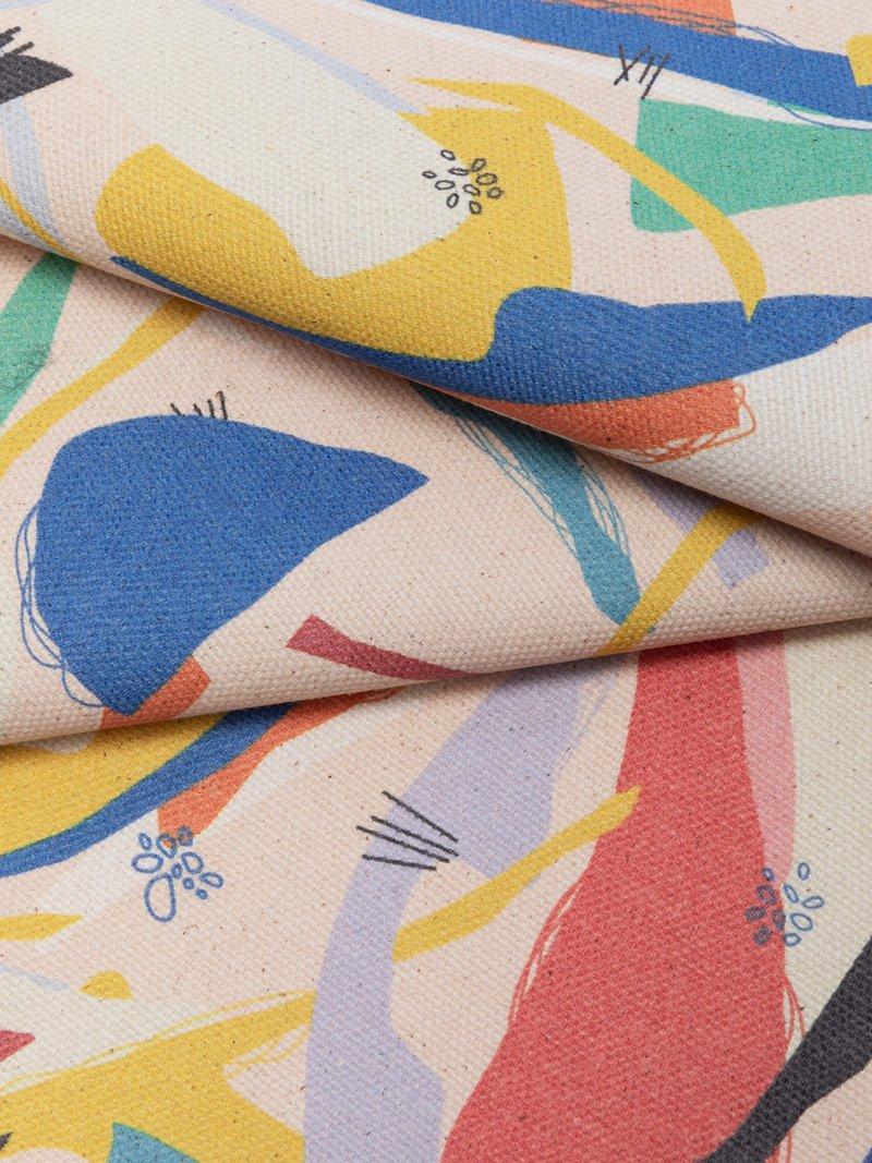 綿 パナマ 布 印刷