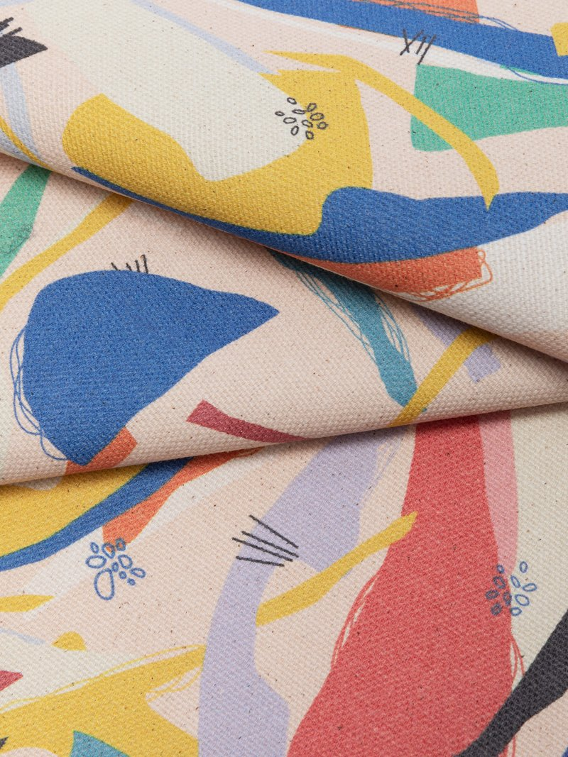 Tissu coton panama