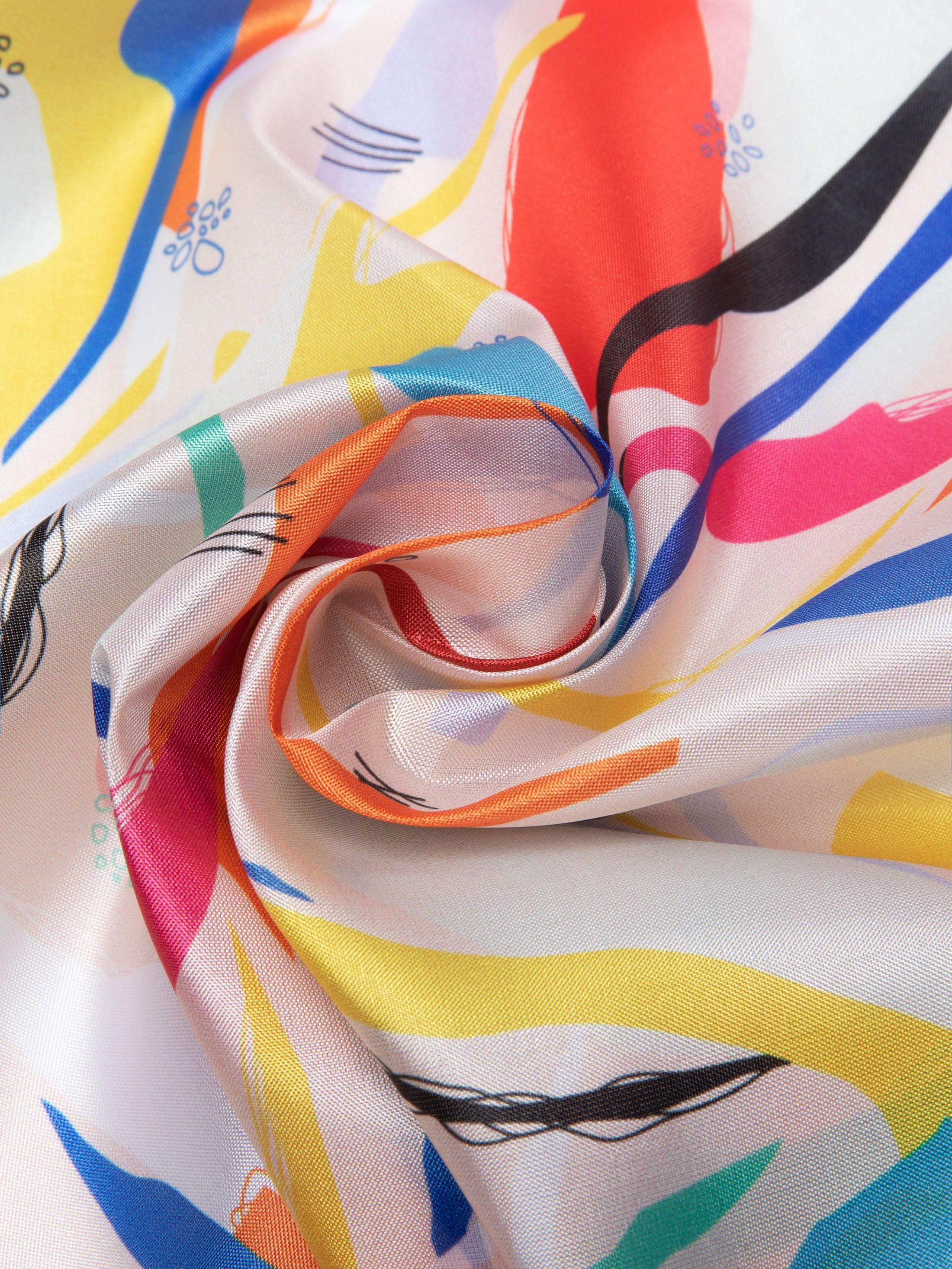Impresión en seda artificial