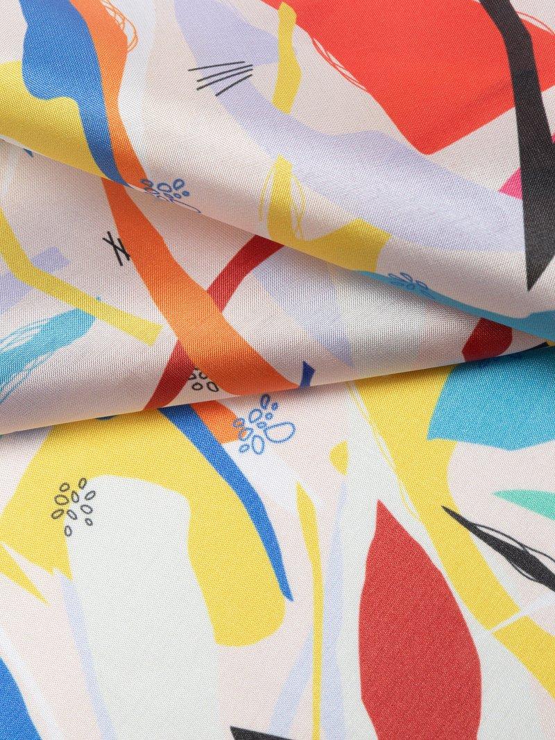 Silk Impression Fabric Printing luxury