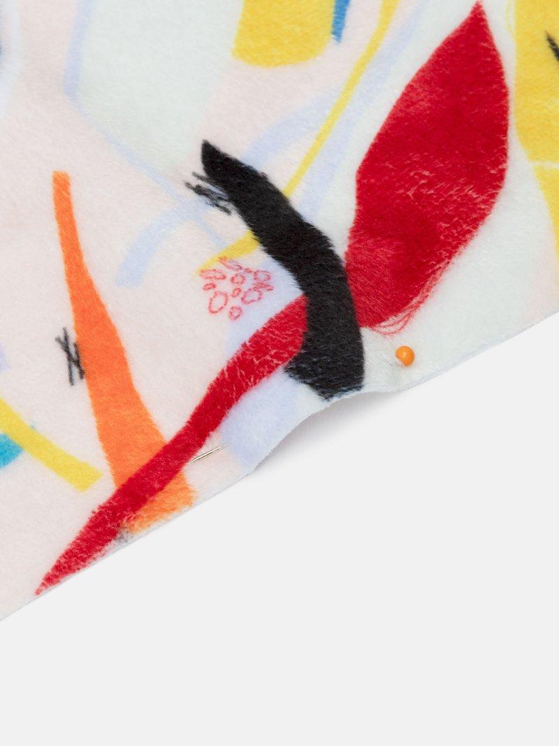 on demand custom printed Plush Velvet fabric