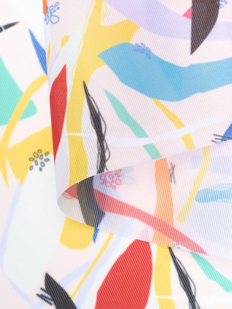 digital Voille De Ville pattern printing