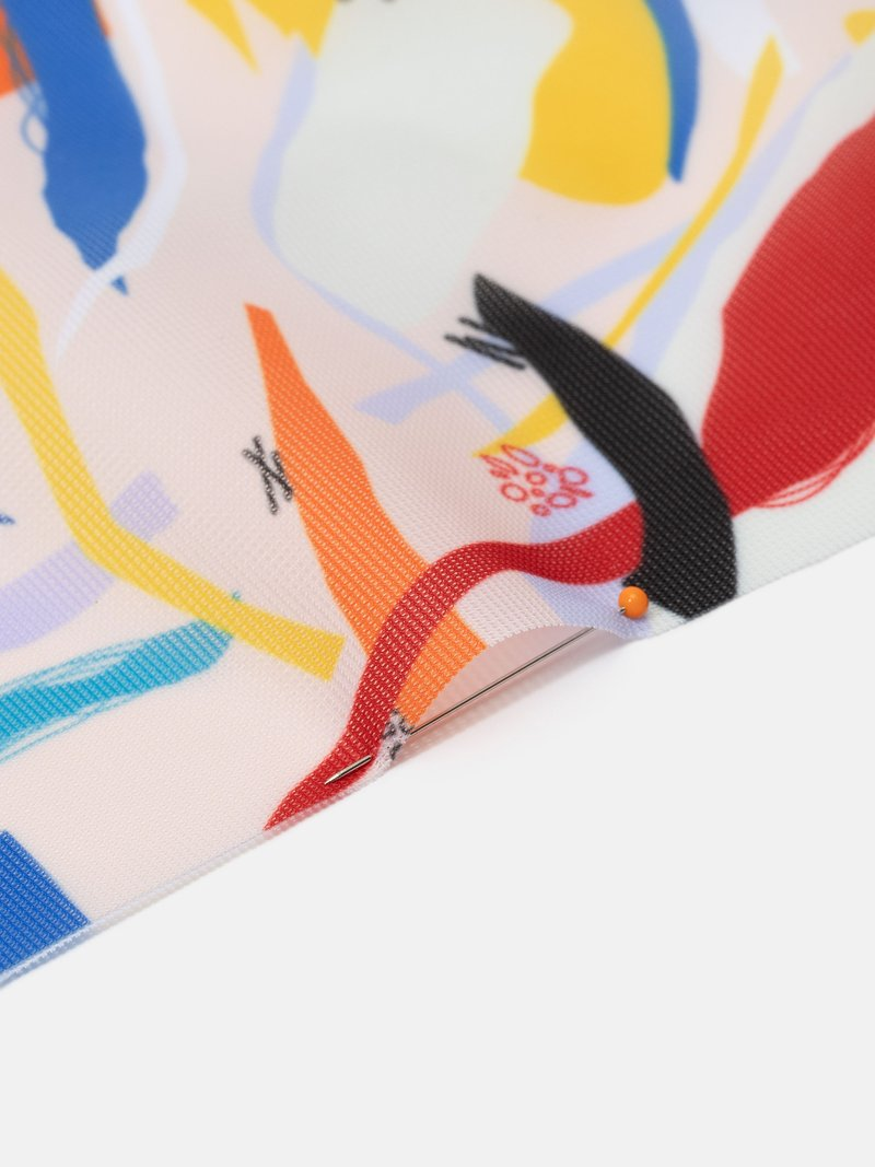 custom print Voille De Ville fabric online