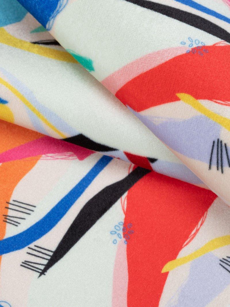 custom printed velvet