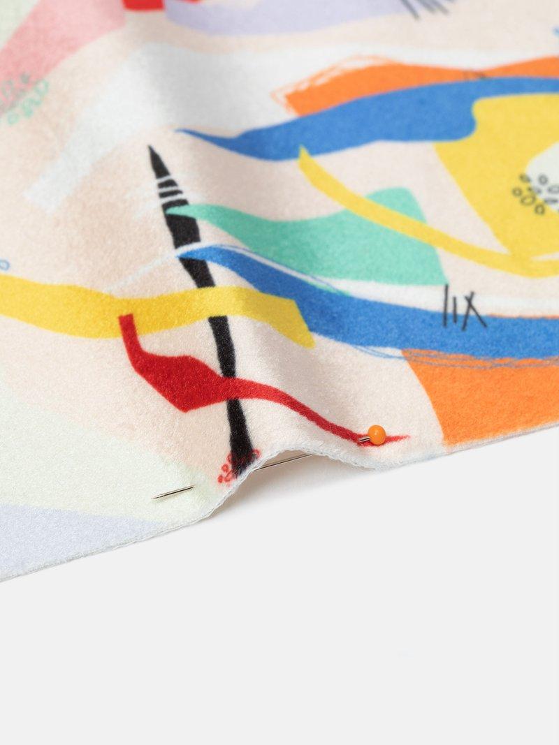 velvet shimmer fabric UK