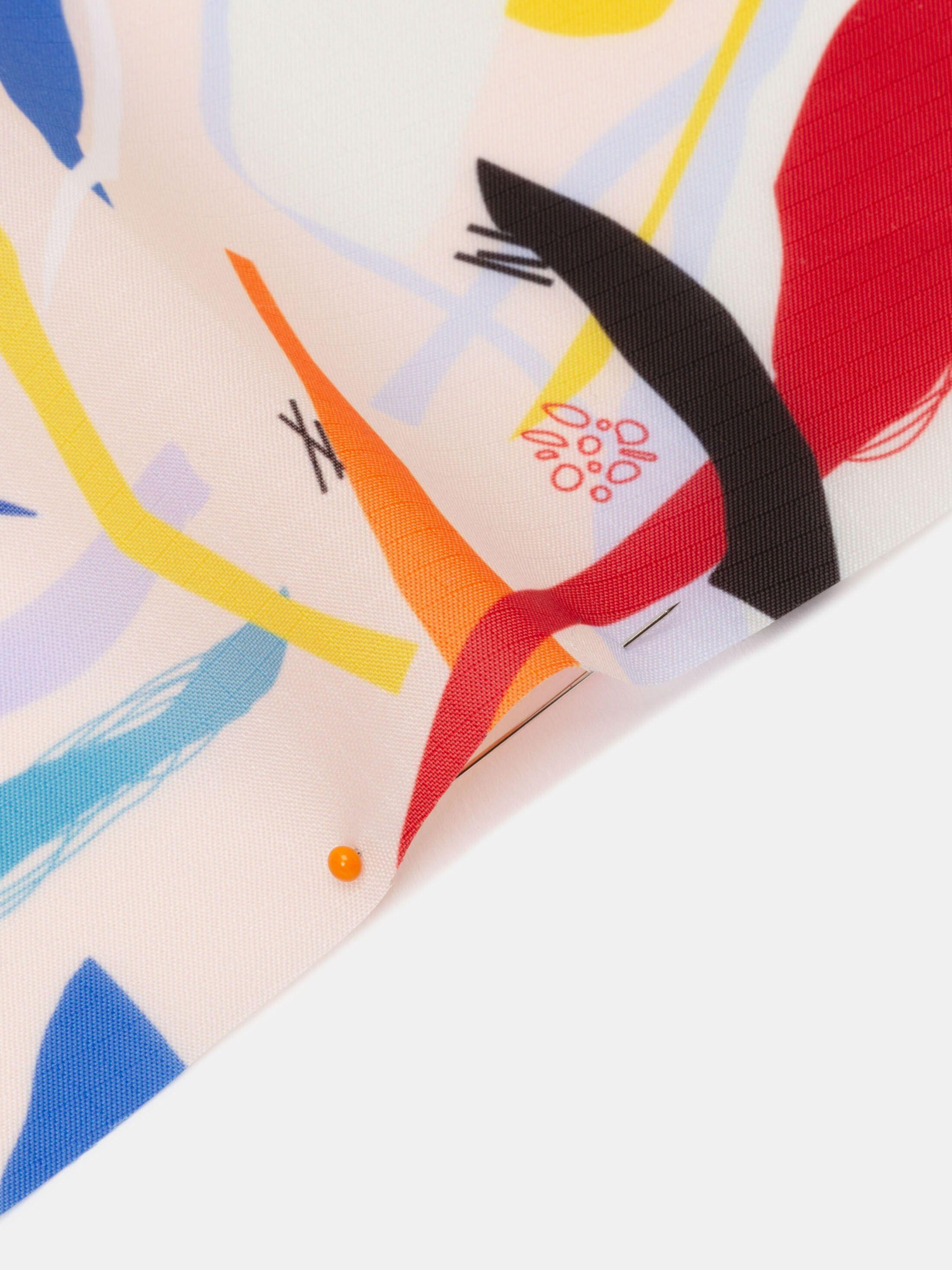print Ripstop lightweight waterproof fabric edge options