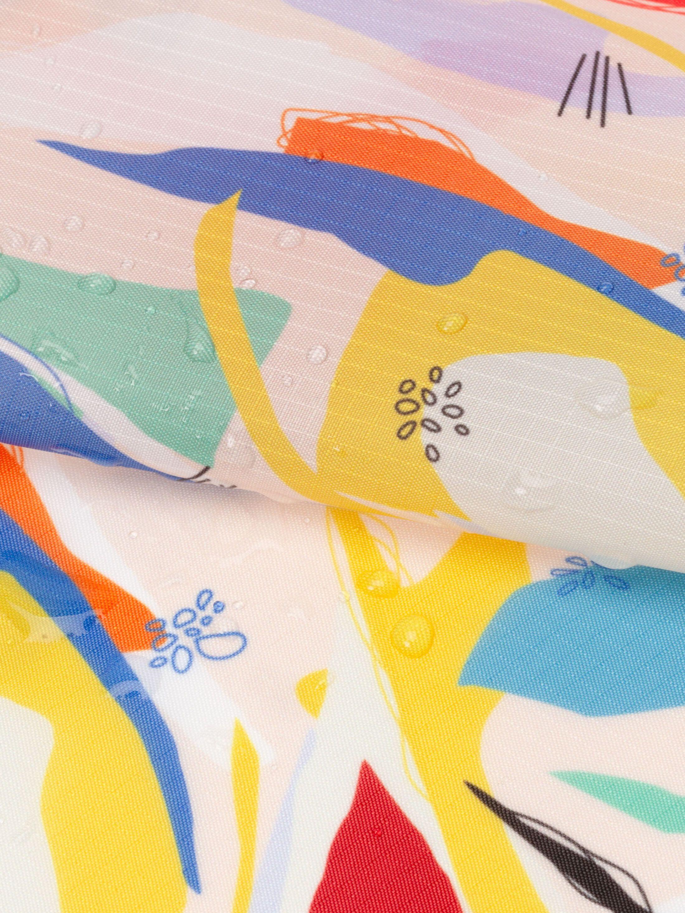 custom Ripstop fabric printing small print