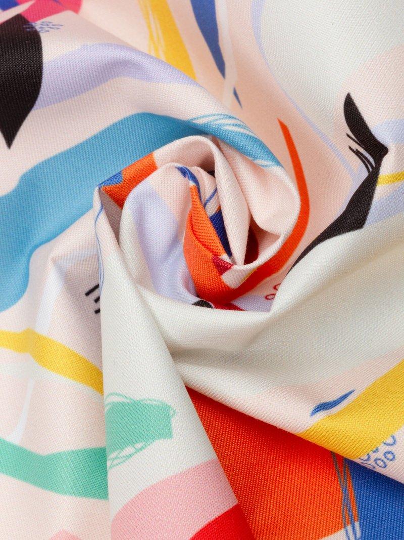 Digitaltryck på vattentät textil