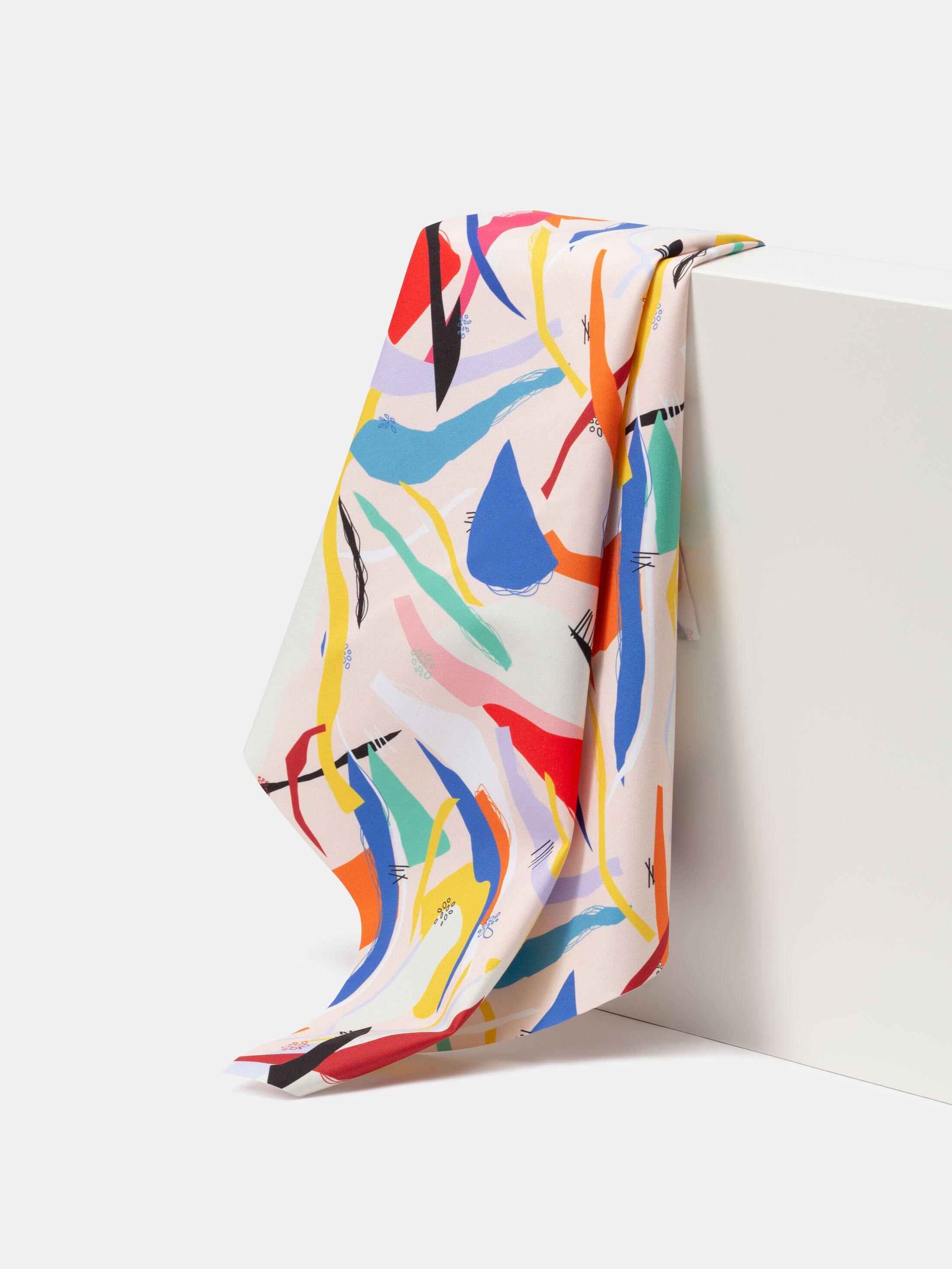Vattentät textil med eget tryck fåll