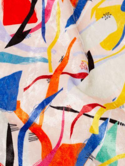 marbled velvet fabric